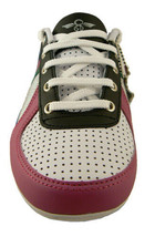 Creative Recreation Womens White Blue Fuchsia Black Galow Gym Shoes Sneakers 6US image 2