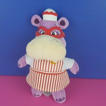 "Disney Store Doc McStuffins Hallie Hippo 8"" Plush Doll Stuffed Animal Pu... - $11.88"
