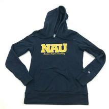 Champion Northern Arizona Lumberjacks Hoodie Sweater Size Small Blue Sweatshirt - $27.33