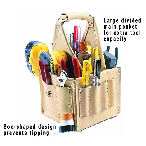 CLC Custom Leathercraft 526 Electrician's and Maintenance Tool Pouch, Heavy Duty - $129.99