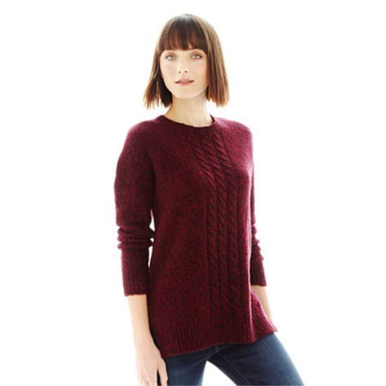 Primary image for Joe Fresh Marled Tunic Sweater Size M New Borge Msrp $44.00