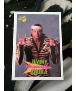 "1990 Classic WWF Wrestling Jimmy ""Superfly"" Snuka Card #14 - $1.50"