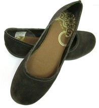 Merrell 5.5 Avesso Flats Shoes Slip On Espresso Brown Suede Casual Walking Comfy - $27.20