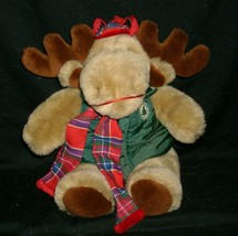 "13"" VINTAGE 1994 COMMONWEALTH CHRISTMAS MOOSTLETOE STUFFED ANIMAL PLUSH ... - $33.66"