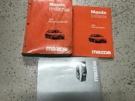 1997 Mazda Millenia Service Repair Workshop Shop Manual Set W EWD + Supplement - $39.55