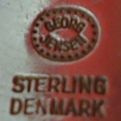 """Acorn by Georg Jensen Sterling Silver Nut Pick 3 3/4"""""""