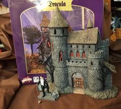 Dept 56 Hot Classics Series DRACULA'S CASTLE & Bela Lugosi Dracula Figur... - ₨5,145.28 INR