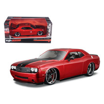 2008 Dodge Challenger SRT8 Red \Classic Muscle\ 1/24 Diecast Model Car b... - $29.92