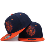 High quality lion face embroidery snapback cap cool king hip hop hat for... - $11.99