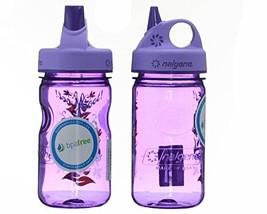 Nalgene Tritan Kid's Grip-n-gulp Water Bottle 12oz Purple Hoot Design 2 ... - $440,32 MXN