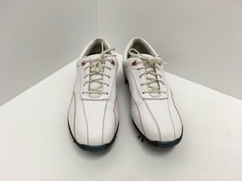 FOOTJOY 97036 White Leather Red Stitch Classic LoPro Golf Shoes Women's Size 6 M - $37.76