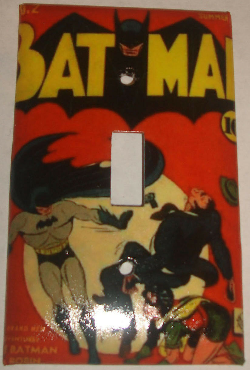 Batman comics book single toggle