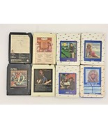 Lot 8 Country 8 Track Tapes Twitty Mandrell Willie Nelson Kenny Rogers T... - $9.95