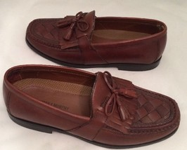 Johnston & Murphy Halsey Kiltie Tassel Mens Loafers 020-2394 Brown Size 8 M - $37.86 CAD