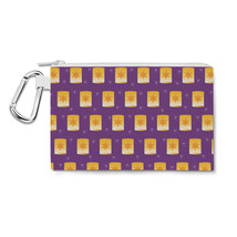 Tangled Floating Lanterns Canvas Zip Pouch - $15.99+