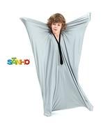 SANHO Dynamic Movement Sensory Body Sock - Updated Version , Silver Large - $37.25