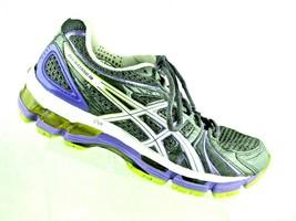 Womens ASICS T2C9N Gel-Hayano 18 Grey Athletic Shoes Sz 7.5 - €45,34 EUR