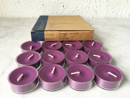 PartyLite Universal Tealight Candles - Set of 12 Fig Tree V04685 - $14.20
