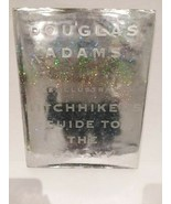 ILLUSTRATED HITCHHIKERS GUIDE TO THE GALAXY - DOUGLAS ADAMS - FREE SHIPPING - $28.05