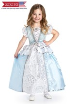 Little Adventures Traditional Cinderella Girls Princess Costume - Medium... - $40.57