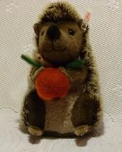 "Steiff Germany ""SIGI"" Music Box Hedgehog # EAN 037092 - $99.98"