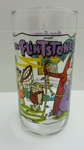 Flintstones Collectible Glass Hanna Barbera Productions Inc Excellent co... - $4.94