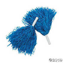 Royal Blue Pom Poms (1 Dozen) - $18.11
