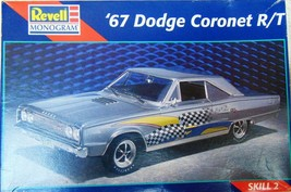 Revell - 67 Dodge Coronet R/T - (Skill 2) - Model Kit - 1:25 -New - $25.60