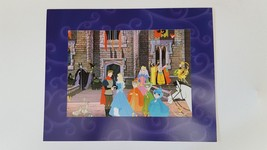 "SLEEPING BEAUTY 2003 DISNEY STORE LITHOGRAPH SPECIAL EDITION AURORA 11""x... - $19.79"