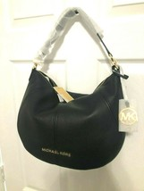 Michael Kors Bedford Medium Convertible Shoulder Hobo Bag Pebbled Leathe... - $98.01