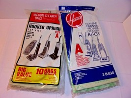 Hoover Upright 13 Top Fill Vacuum Cleaner Bags Type A Includes Convertible - $10.84