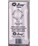 "Q-Snaps 8"" x 8"" frame cross stitch needlework - $12.60"