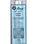 "Q-Snaps 17"" x 17"" frame cross stitch needlework - $16.65"