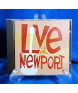 Live At Newport CD Time Life Music 2002 Kingston Trio Donovan Pete Seeger  - $14.81