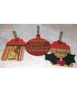 Christmas Gift Card Holder Ornaments Handmade T... - $3.95