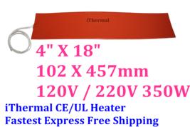 "4""X18"" 102 X 457mm 350W iThermal Ukulele Side Bending Heating Blanket Ex... - $49.99"