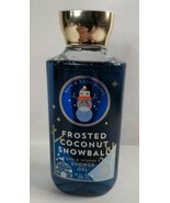 Bath & Body Works Frosted Coconut Snowball Shower Gel 10oz 2018 Edition ... - $15.99