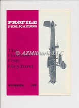 Aircraft Profile Number 182: The Handley Page Heyford - $5.75
