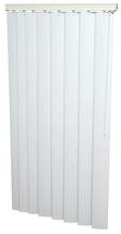 "47 x 48 White 3-1/2"" Vertical Blind- Vertical Blind 47W x 48L - $39.99"