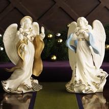 Lenox First Blessing Nativity 2-piece Angel Figurine Set  - $238.50