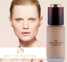 Authentic Kevyn Aucoin The Sensual Skin Fluid Foundation -SF 08 SF08 *NIB* - $17.99