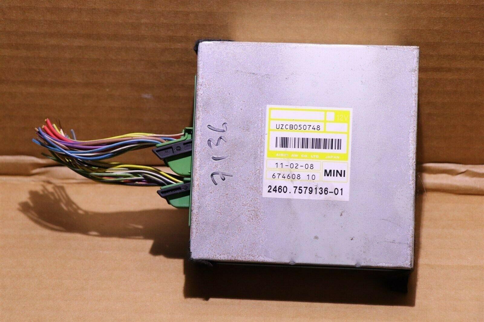 Mini Cooper Auto Trans Transmission Control Module Unit Tcm Tcu 24607579136