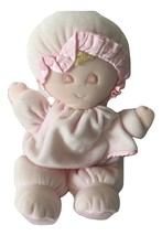 Eden Toys Light Pink Velour Sleeping Baby Girl  Plushie Lovey Doll Soft ... - $39.99