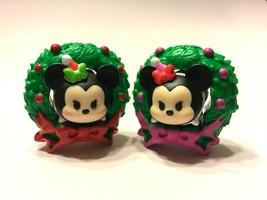 Disney Tsum Tsum Stack Vinyl Advent Wreath Minnie Mickey set FREE SHIP $25 - $11.39