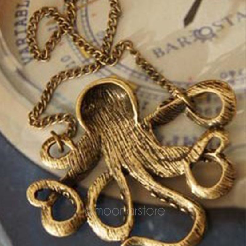 Fashion Statement Necklaces Pendants for Women Octopus Collier Femme classic