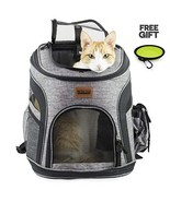 RETRO PUG Cat Carrier Backpack - Front Pack - Airline Approved - Strap A... - $39.27