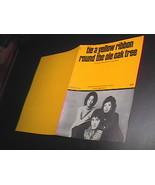 Sheet Music Tie A Yellow Ribbon Round The Ole Oak Tree Tony Orlando & Da... - $8.99