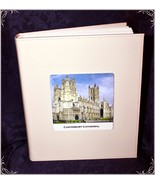 Large White Book-bound Traditional Wedding Personalised Photo Album #1 - $51.32
