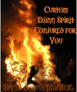 Spell Bound Magick Summon Custom Djinn Jinn Genie Spirit and Vessel Haunted - $1,000.00