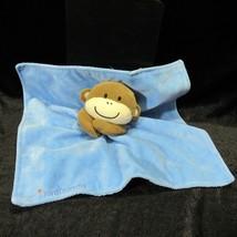 Magic Years I Love Mommy Blue Monkey Rattle Security Blanket Lovey Lovie - $26.99